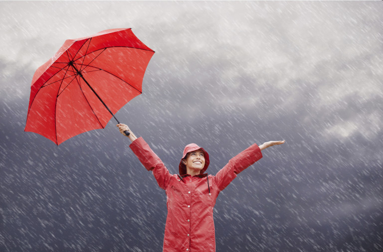 Rain? Who cares?!